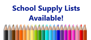 2021/2022 Supply Lists Available!